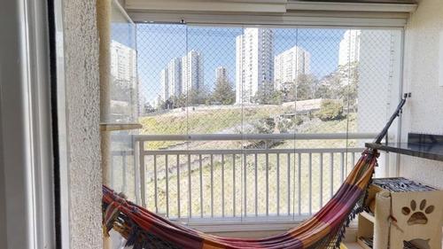 Imagem 1 de 18 de Apartamento À Venda No Bairro Campo Limpo - São Paulo/sp - O-17217-28322