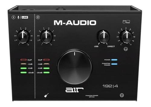 Interfaz De Usb Audio 2 Canales Unidad M-audio Air 192x4