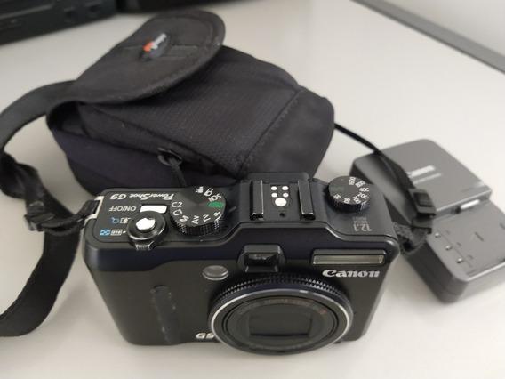 Camera Fotografia Canon G9 Semi Profissional