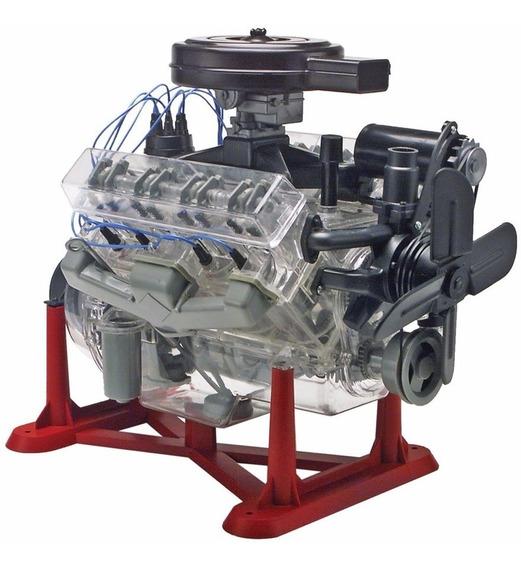 Motor V8 1/4 Em Escala Plastimodelismo Revell 858883
