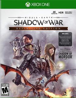 Middle Earth Shadow Of War Definitive Edition Xbox One Nuevo