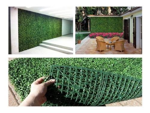 Imagen 1 de 3 de 5 Pzas Follaje Artificial Sintetico Para Muro O Pared Verde