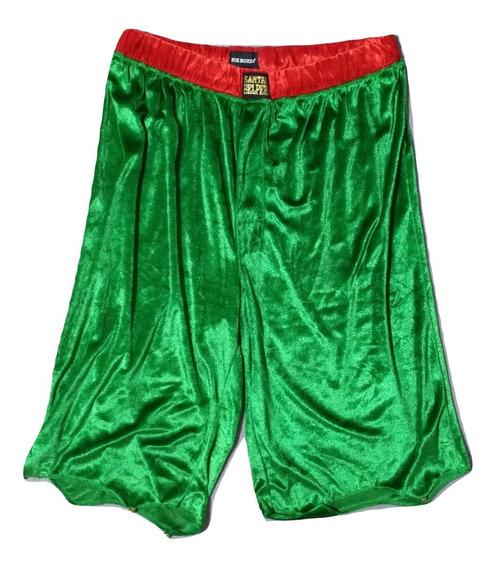 Boxer Largo Navidad Diseño Duende Joe Boxer Hombre Talla L