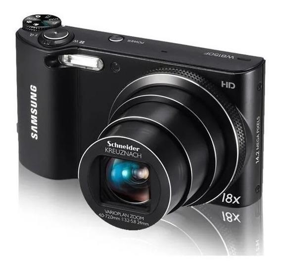 Câmera Samsung Smart Wb150f Lcd 3,014.2mp Óptico 18x Wifi