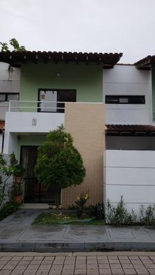 Casa Mobiliada Em Condominio Fechado, No Parque Dez.