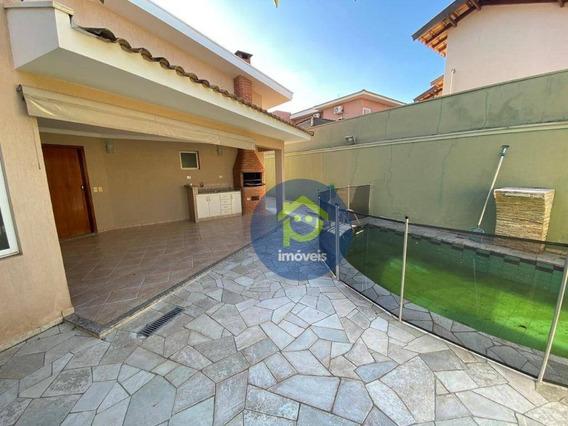Casa Com 3 Dormitórios Para Alugar, 244 M² Por R$ 3.000,00/mês - Parque Residencial Damha Iii - São José Do Rio Preto/sp - Ca1716