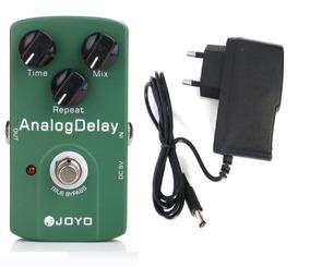 Pedal ( Com Fonte) Guitarra Analog Delay Joyo Jf33 Jf-33