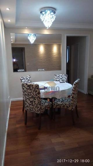 Apartamento De 65m², 2 Quartos, 2 Banheiro, 1 Vaga Próximo Ao Metrô Sacomã. - Ap0810