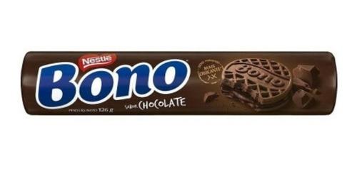 Biscoito Bono Recheado Chocolate Nestle 126 Grs