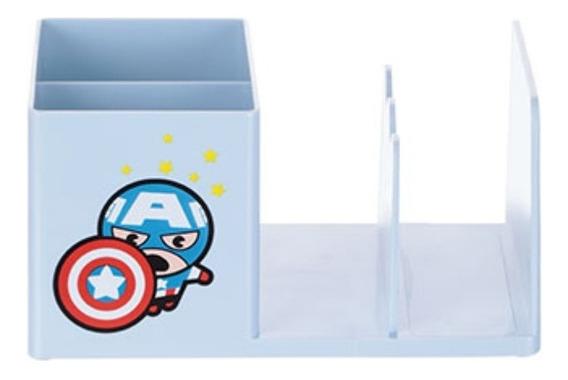 Porta-caneta Organizador De Escritório - Capitão América