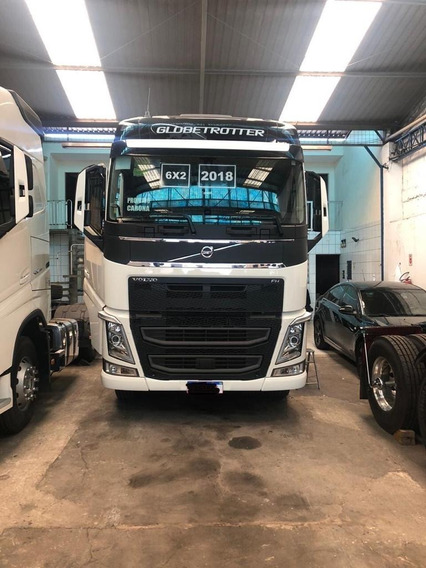 Caminhão Volvo Fh 460 Branco 2018 Teto Alto Novo