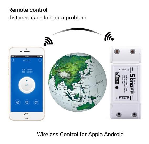 Sonoff 10a Diy Smart Controlador De Potencia Wifi