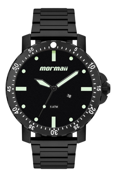 Relógio Analógico Mormaii Urban Preto Mo2115bh/4p