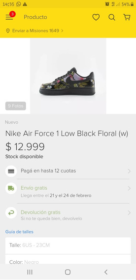 Nike Air Force Floreadas