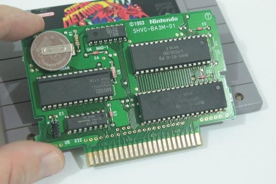 Super Metroid Jogo Para Super Nintendo Snes Original