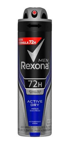 Desodorante Rexona Men Aero Antitranspirante Active 150ml