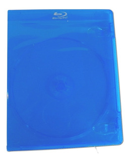 100 Cajas Bluray 11mm Con Logo Plateado Folio En Caja