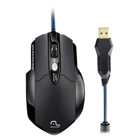 Mouse Laser Multilaser Mo191 Warrior Gamer Pro Laser Usb 8