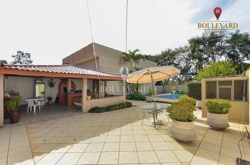 Casa De Esquina, Com 6 Dormitórios À Venda, 325 M² Por R$ 1.099.000 - Boqueirão - Curitiba/pr - Ca0205