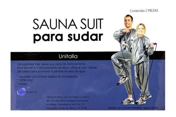 Sauna Suit Para Sudar 2 Piezas Y Bajar De Peso. Quema Toxina