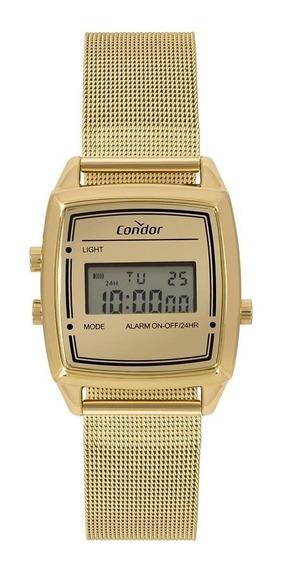 Relógio Feminino Condor Mini Dourado - Original