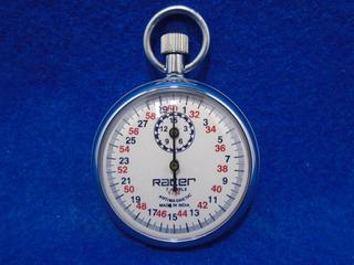 Cronometro Analogo Metalico De 0 A 60 Min 1/10 Seg De 7 Joya