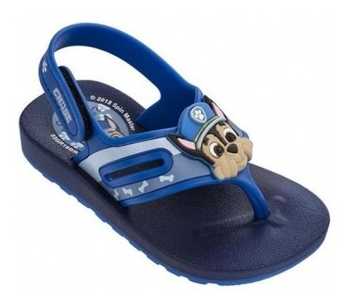 Sandalias Paw Patrol Niños Azul Con Envio Gratis Fty Calzado
