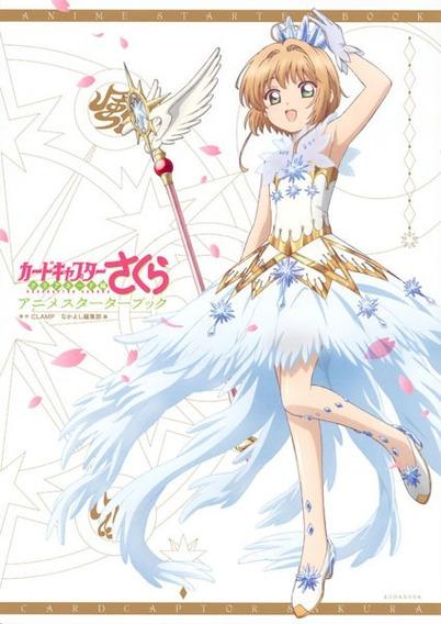 Livro Cardcaptor Sakura Anime Starter Book Japonês