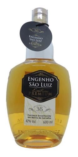 Imagem 1 de 3 de Cachaça Engenho São Luiz Extra Premium Carvalho 36 Meses