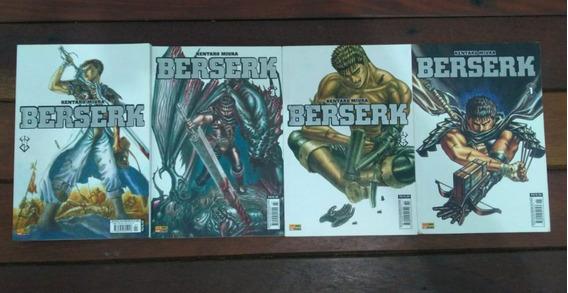 Berserk Vol. 1,2,3,4