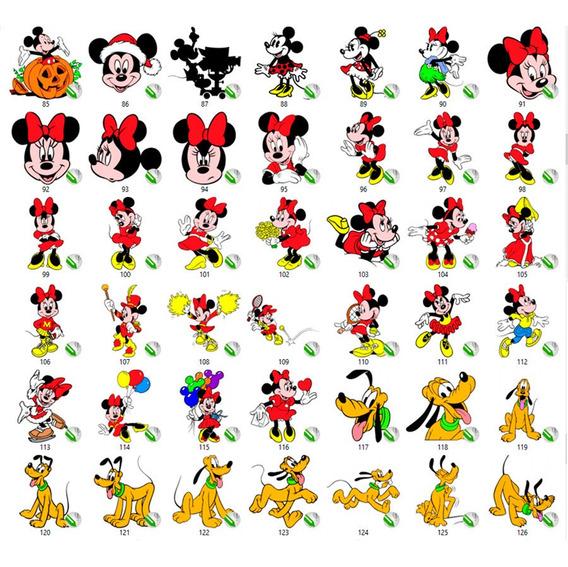 200 Vetores Mickey Editaveis Corel Draw Illustrator