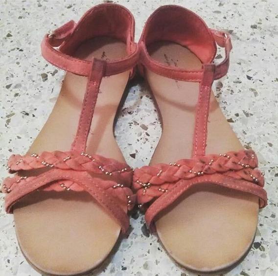 Sandalias Para Niña Zara