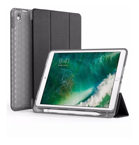 Capa iPad 9.7 2017 À 2019 Wb Couro Com Compart. Apple Pencil