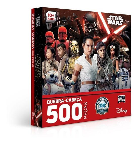 Quebra Cabeça 500 Peças Star Wars Ix - Ascensão Skywalker
