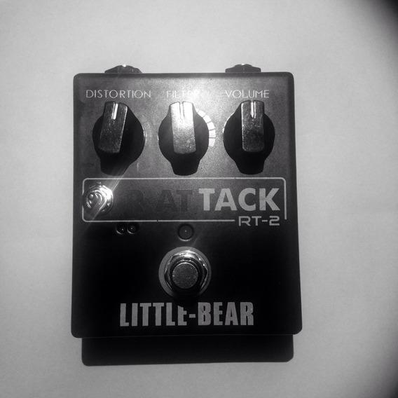 Pedal Rat Tack Little Bear Rt-2 Distorcion