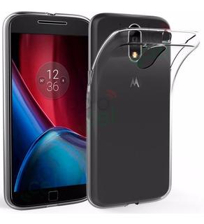 Funda Ultrafina Motorola Moto G4 G5 Play G6 Plus + Templado