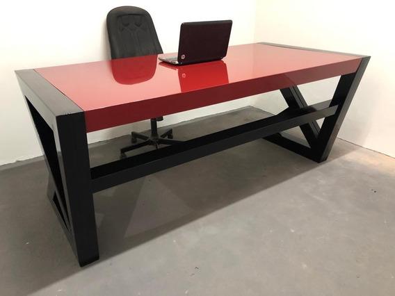 Mesa Escritório - Acm E Ferro - Moderna
