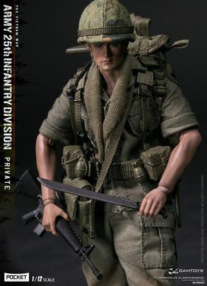Damtoys Army 25th Infantry Division Pocket Elite Series 1/12