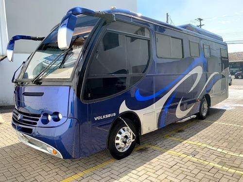 Motor Home Chapeco Vw 8.150 9 Lugares 8,5metros