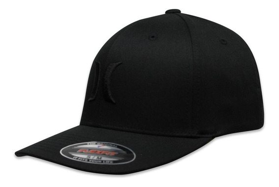 Gorra Hurley Flex Fit One And Only Negro