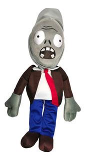 Peluche Zombie Cubeta Plantas Vs Zombies Juguete 52cm