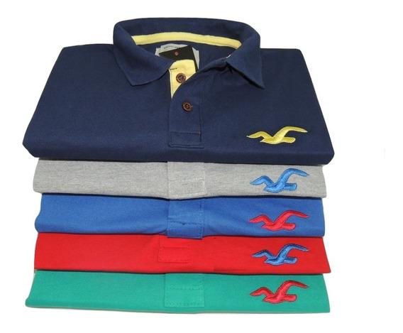 Camisa Gola Polo Masculina Grandes Marcas Produto Top