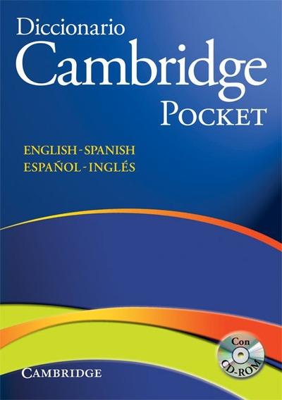 Diccionario Cambridge Pocket - Español / Inglés