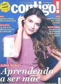 Revista Contigo 2084/15 - Alinne/angélica/xuxa/sandy