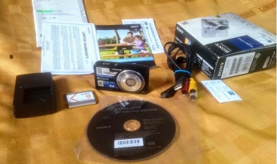 Câmera Sony Dsc W350Completa - Parou Funcionar