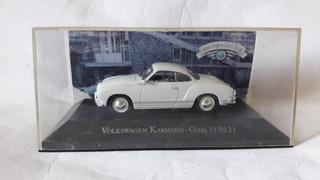 Miniatura Do Volkswagen Karmann-guia 1962 1:43