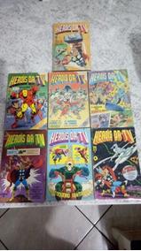Herois Da Tv Coleçao Completa Com Todo O Dicionario Marvel