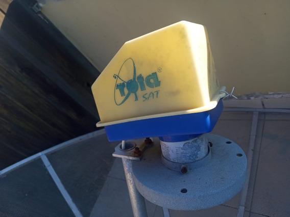 Antena Parabólica Com Receptor E Controle