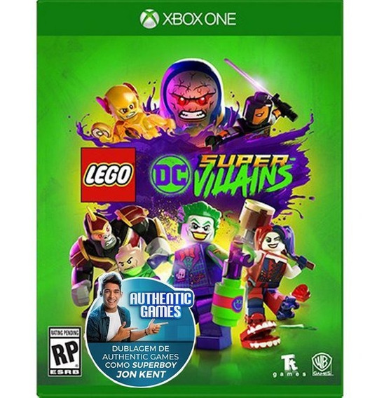 Lego Dc Super Villains - Midia Fisica Xbox One