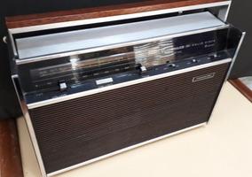 Rádio Philco Antigo - Transglobe - Am Fm - 9 Band - Lupa Ra